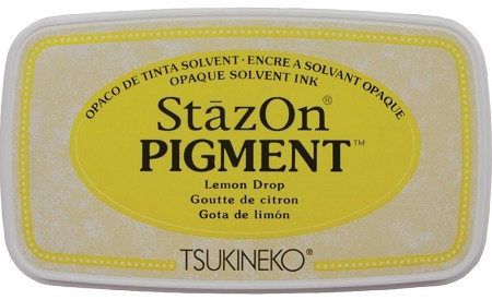 Tsukineko - StazOn Pigment Ink Pad - Lemon Drop