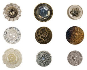 Advantus - Tim Holtz Idea-ology - Accoutrement Buttons #2