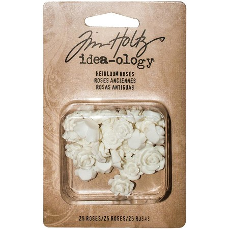 Advantus - Tim Holtz Idea-ology - Heirloom Roses (resin)