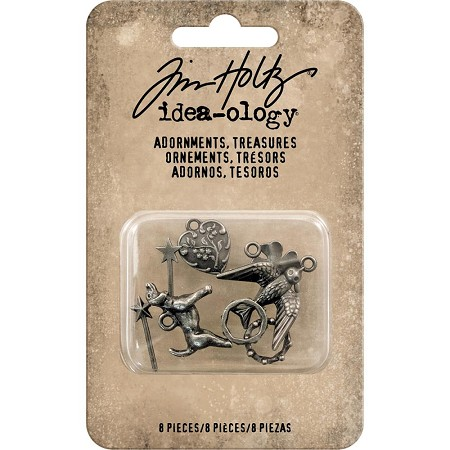 Advantus - Tim Holtz Idea-ology - Adornments Treasures (charms)