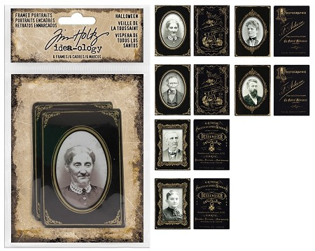 Advantus - Tim Holtz Idea-ology - Halloween Framed Portraits