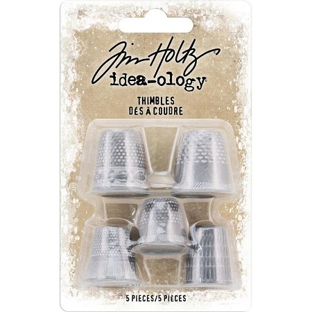 Advantus - Tim Holtz Idea-ology - Metal Thimbles