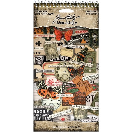 Advantus Tim Holtz Idea-ology - Curiosities Sticker Book