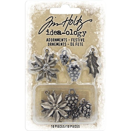 Advantus Tim Holtz Idea-ology - Festive Adornments (2019 version)