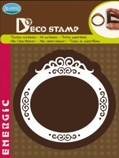 Aladine-Home Deco Stamp-Oval Frame