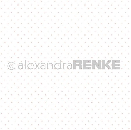 "Alexandra Renke - 12""x12"" Cardstock - Little Dots Light Rose"