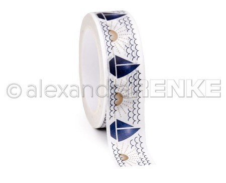 "Alexandra Renke - Washi Tape - Sailboat (0.6""x10yd)"