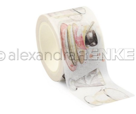 "Alexandra Renke - Washi Tape - Kitchenware (1.2""x10yd)"