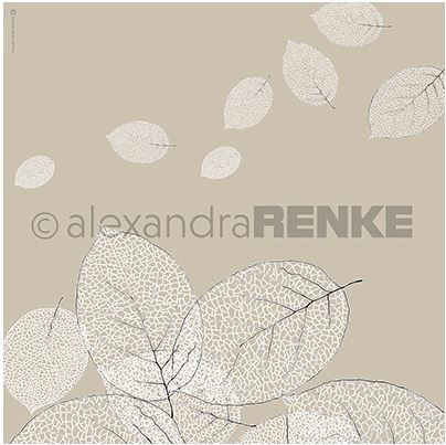 "Alexandra Renke - 12""x12"" Cardstock - Skeleton Leaves"