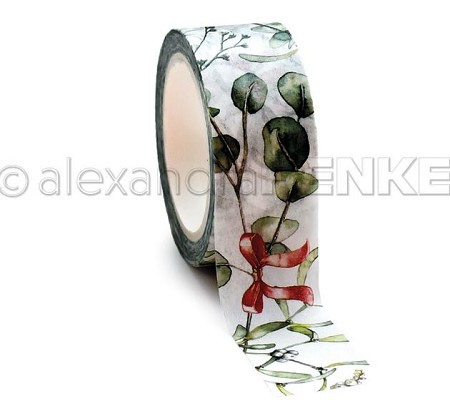 "Alexandra Renke - Washi Tape - Mistletoe Wreath (0.75""x10yd)"