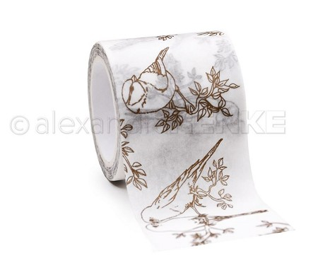 "Alexandra Renke - Birds Washi Tape (1.5""x10yd)"
