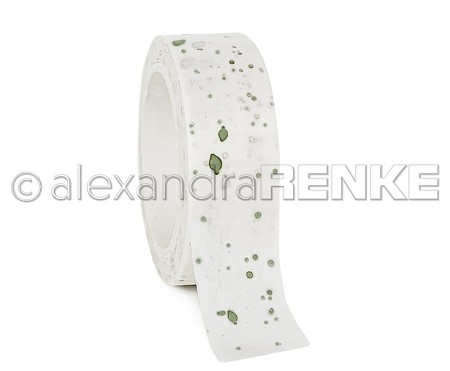 "Alexandra Renke - Washi Tape - Color Blotches Green (0.6""x10yd)"