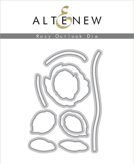 Altenew - Cutting Dies - Rosy Outlook