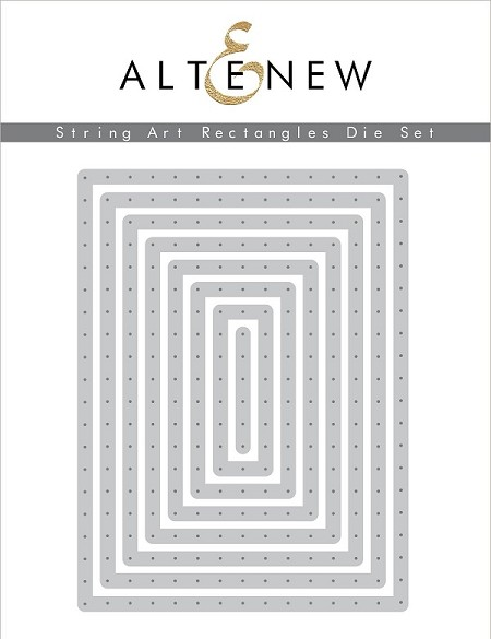 Altenew - Cutting Dies - String Art Rectangles