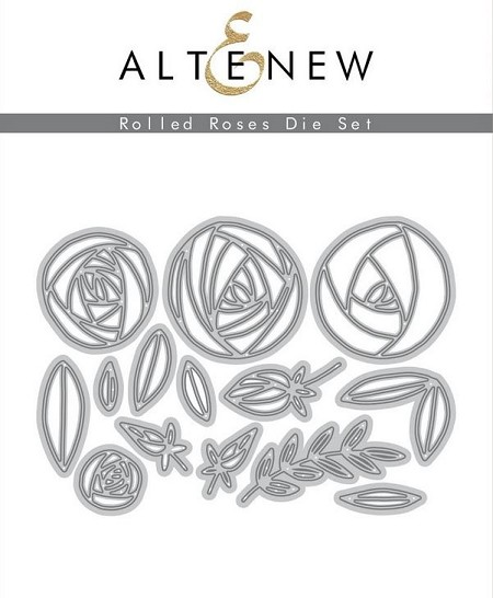 Altenew - Cutting Dies - Rolled Roses Die Set