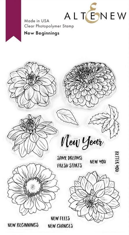 Altenew - Clear Stamps - New Beginnings
