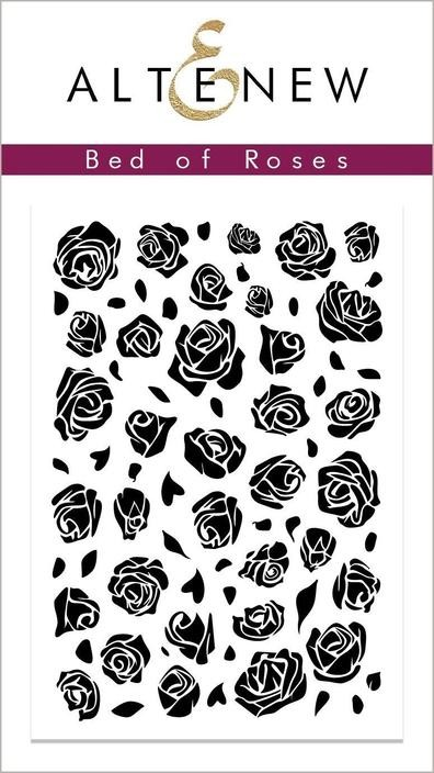 Altenew - Clear Stamps - Bed of Roses