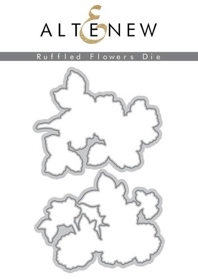 Altenew - Cutting Dies - Ruffled Flowers