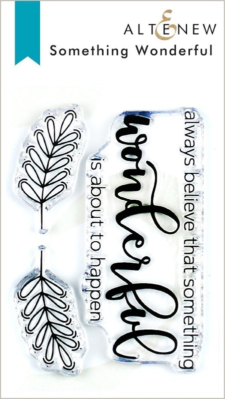 Altenew - Clear Stamps - Something Wonderful