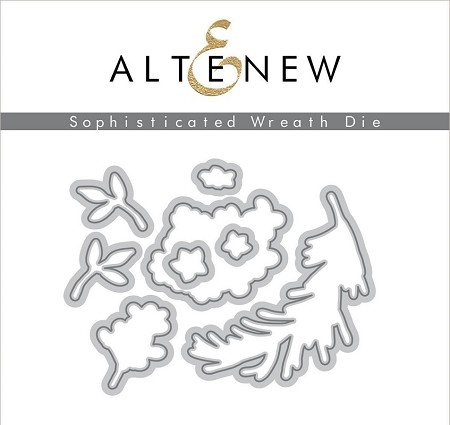Altenew - Cutting Dies - Sophisticated Wreath