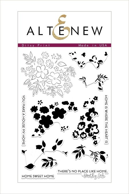 Altenew - Clear Stamps - Ditsy Print