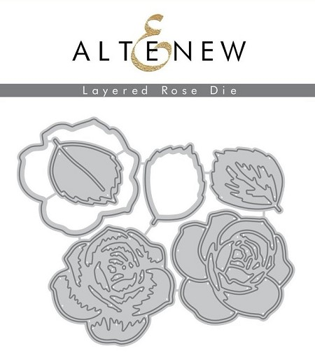 Altenew - Cutting Dies - Layered Rose