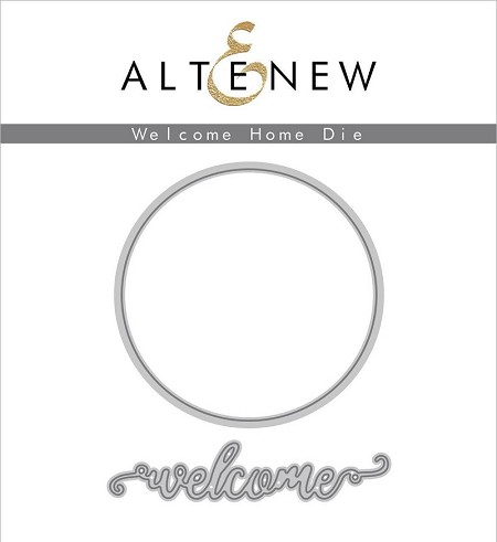 Altenew - Cutting Dies - Welcome Home