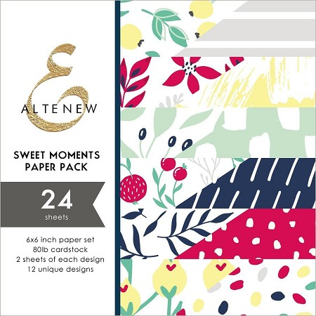 "Altenew - 6""x6"" Paper Pack - Sweet Moments"