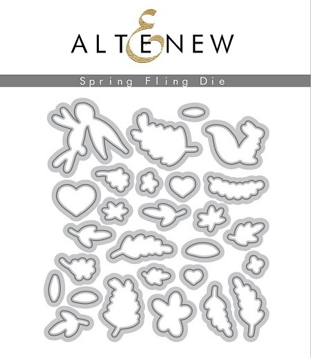 Altenew - Cutting Dies - Spring Fling