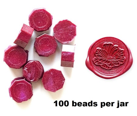 Altenew - Wax Seal Beads - Garnet