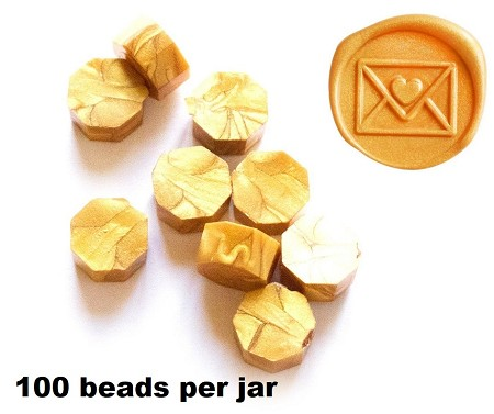 Altenew - Wax Seal Beads - Enchanted Gold