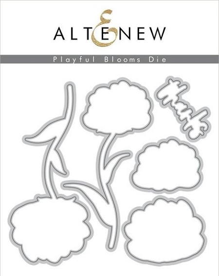 Altenew - Cutting Dies - Playful Blooms