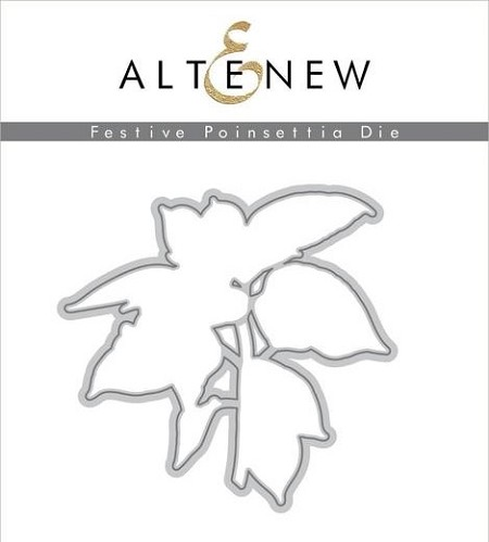 Altenew - Cutting Dies - Festive Poinsettia