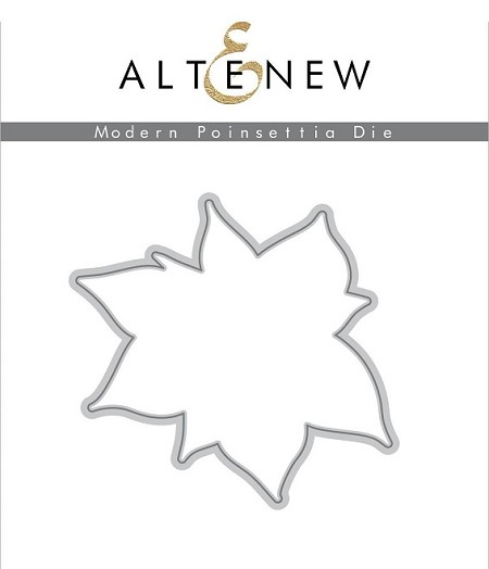 Altenew - Cutting Dies - Modern Poinsettia