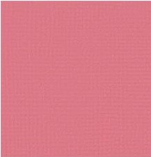"American Crafts - 12"" x 12"" Textured Cardstock - Rosebud"