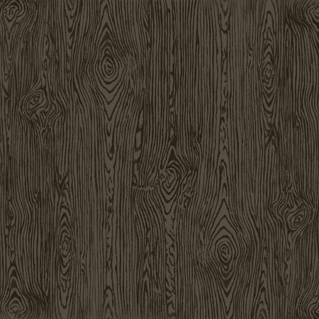 "American Crafts - 12"" x 12"" Woodgrain Textured Cardstock - Black"