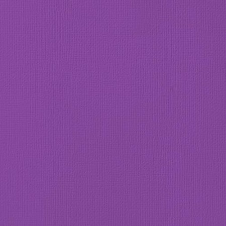 "American Crafts - 12"" x 12"" Textured Cardstock - Grape"
