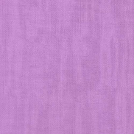 "American Crafts - 12"" x 12"" Textured Cardstock - Orchid"