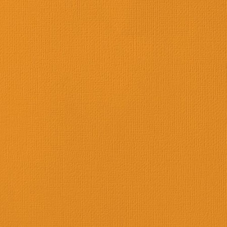 "American Crafts - 12"" x 12"" Textured Cardstock - Butterscotch"