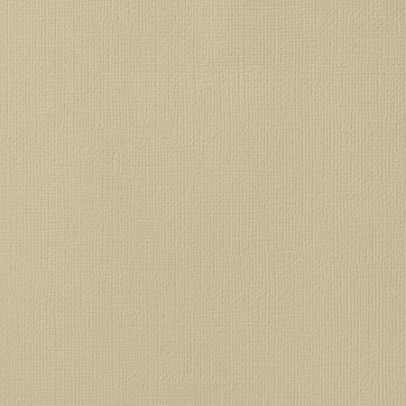 "American Crafts - 12"" x 12"" Textured Cardstock - Sand"