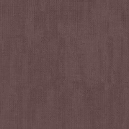 "American Crafts - 12"" x 12"" Textured Cardstock - Coffee"