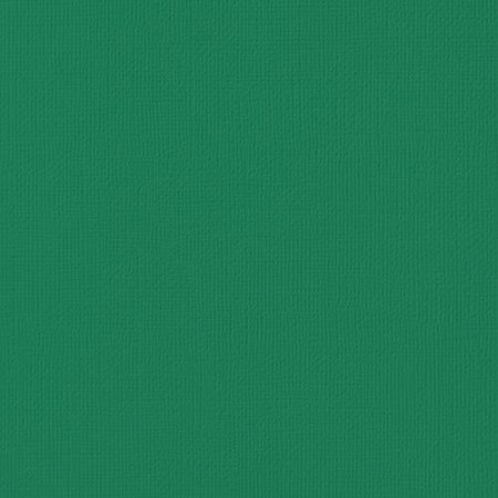 "American Crafts - 12"" x 12"" Textured Cardstock - Evergreen"