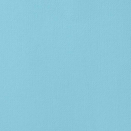 "American Crafts - 12"" x 12"" Textured Cardstock - Powder"