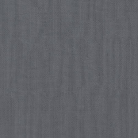 "American Crafts - 12"" x 12"" Textured Cardstock - Charcoal"