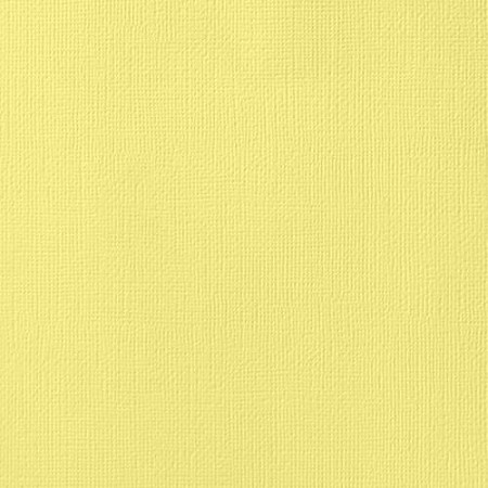 "American Crafts - 12"" x 12"" Textured Cardstock - Canary"