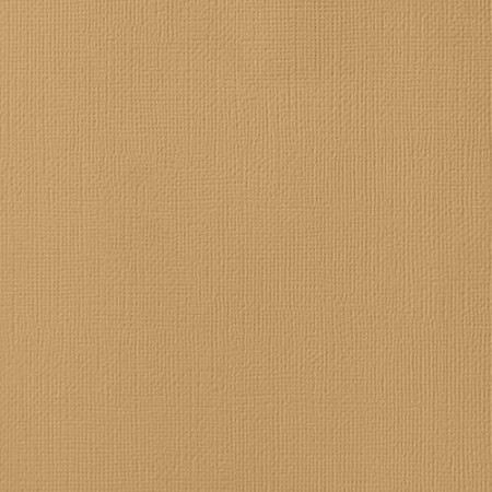 "American Crafts - 12"" x 12"" Smooth Cardstock - Kraft"