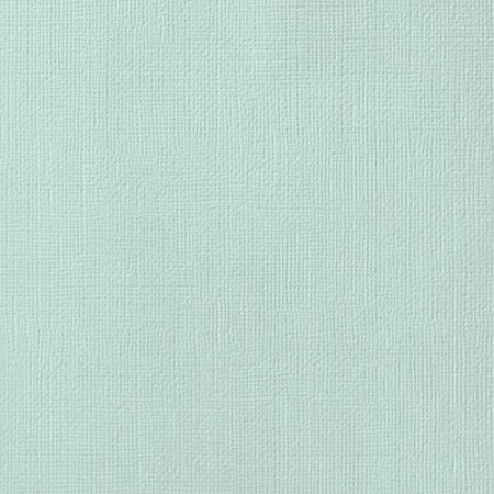 "American Crafts - 12"" x 12"" Textured Cardstock - Spearmint"