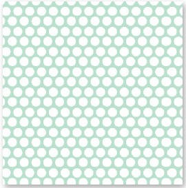 "American Crafts - Dear Lizzy Spring Collection - 12""x12"" (Adhesive Backed Fabric) Double Sided Paper - Firefly Festival"