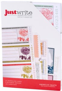 American Crafts - Dear Lizzy Enchanted Collection - Just Write Journaling Cards