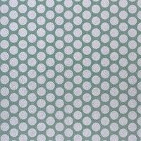 American Crafts - Pow! Collection - 12x12 Glitter Paper - Medium Dots - Evergreen